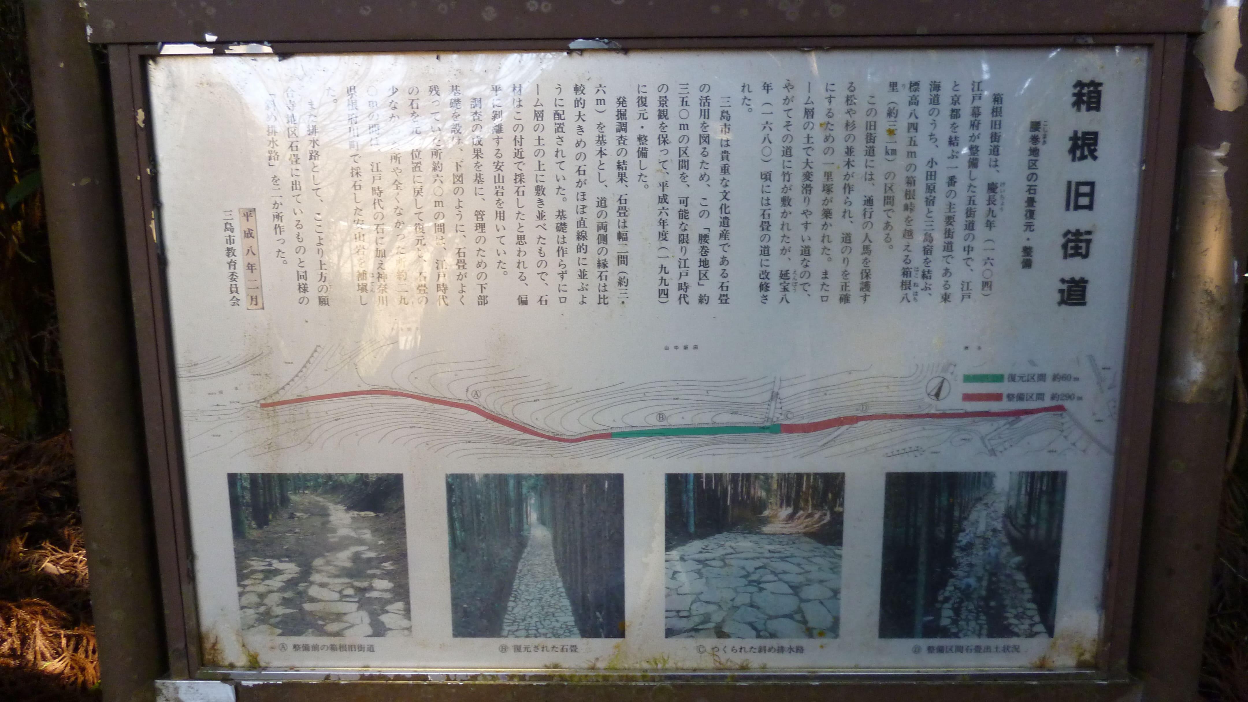 リーフと散歩運転|山中城跡